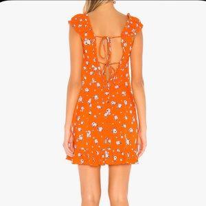 Free People 'like a lady' mini dress